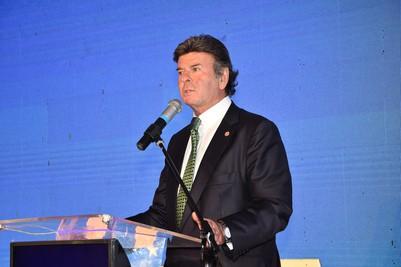 Ministro Do STF Luiz Fux Realiza Palestra De Encerramento Do XXI Congresso Brasileiro De Direito Notarial E De Registro
